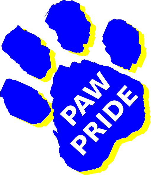 Paw Pride Clip Art at Clker.com.