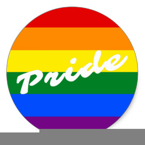 Pride Rainbow Clipart.