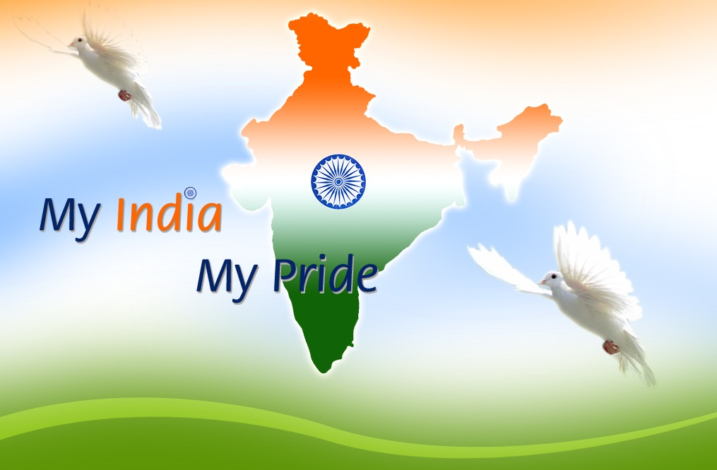 Independence Day Of India Wishes Clipart Image.