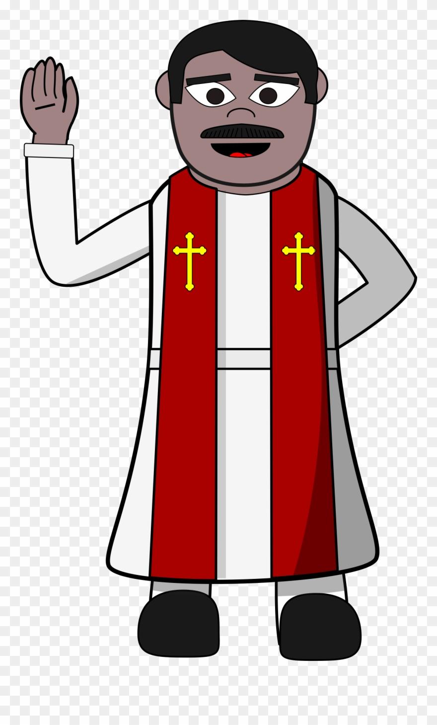 Priest Clipart Png Transparent Png (#348647).