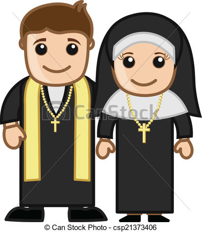 166 Priest free clipart.