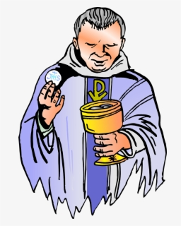 Free Priest Clip Art with No Background.