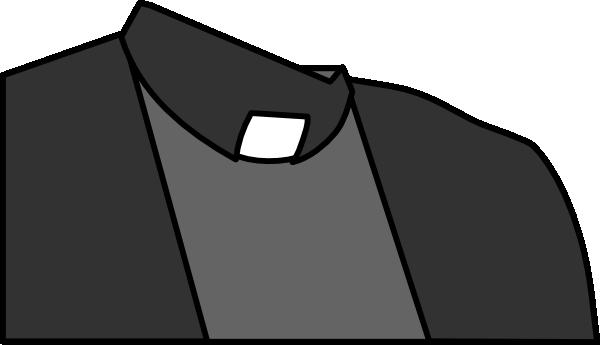 Priest Collar Shirt Clip Art at Clker.com.