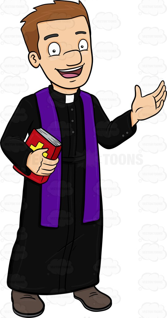 Priest Clipart.
