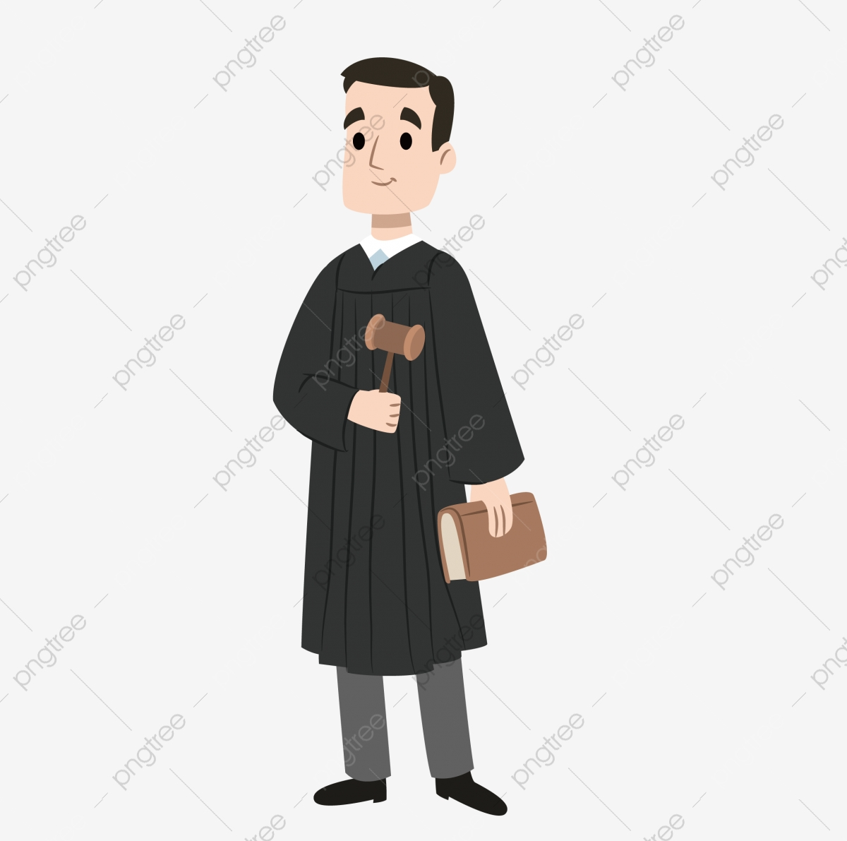 Cartoon Priest Vector, Cartoon Vector, Cartoon, Priest PNG.