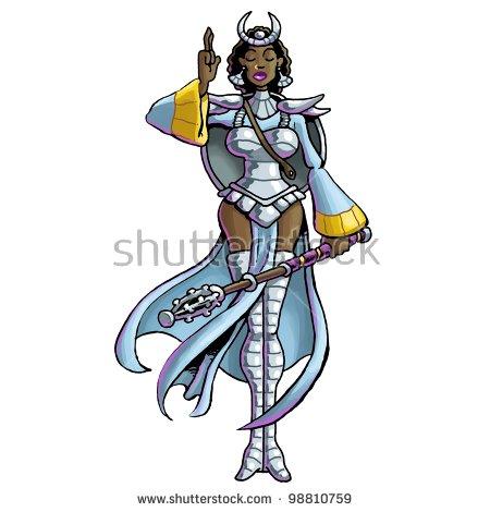 Warrior Priestess Stock Photo 98810759 : Shutterstock.