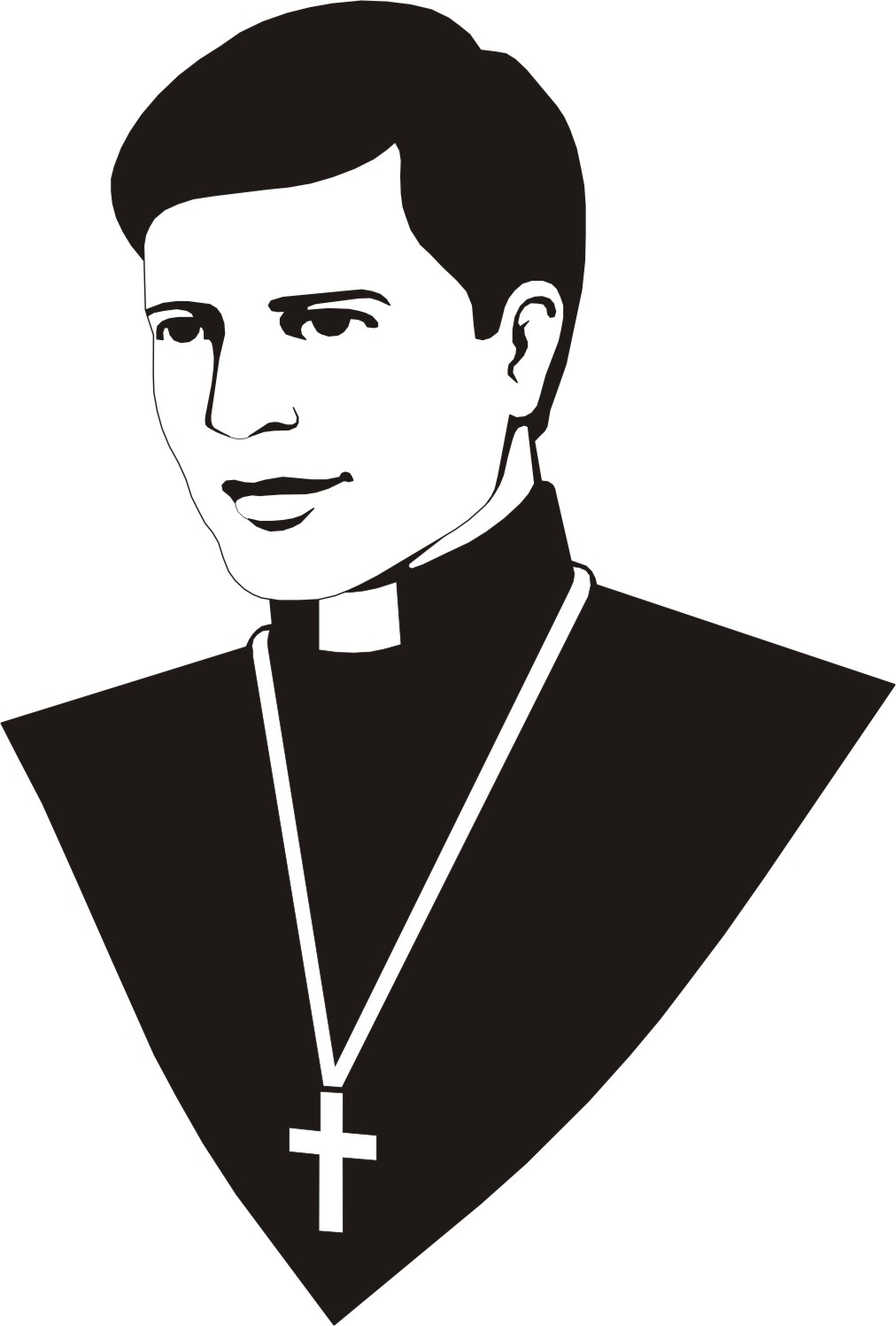 Catholic Priest Clip Art.