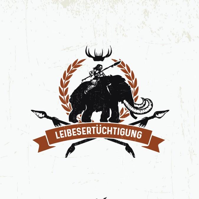 My Logo in Primal (Paleo) style.