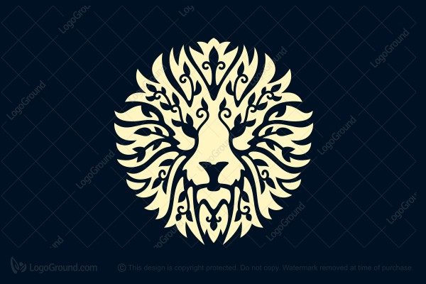 Exclusive Logo 134021, Primal King Logo.