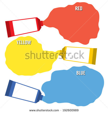 Primary Colors Stock Photos, Royalty.