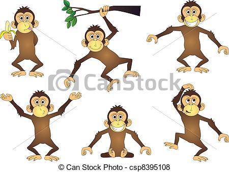 Primates Vector Clip Art EPS Images. 4,301 Primates clipart vector.