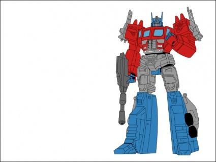 Optimus prime clip art.