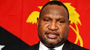James Marape elected as new PNG prime minister.