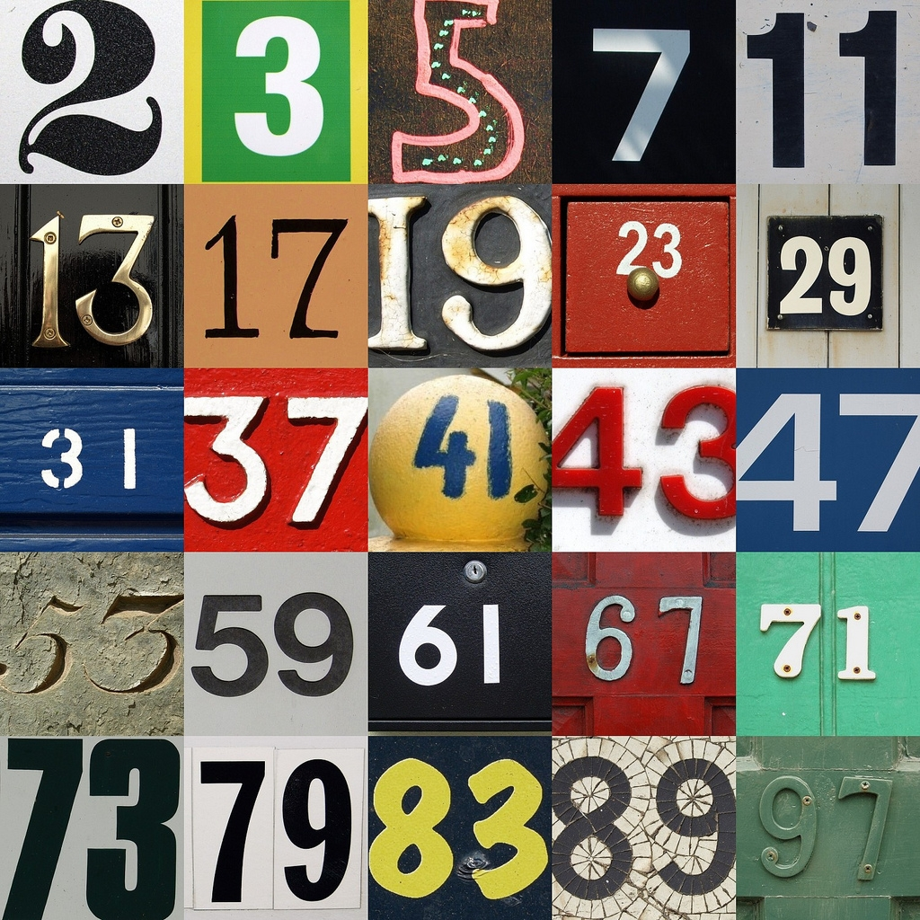 Prime Numbers Clipart.
