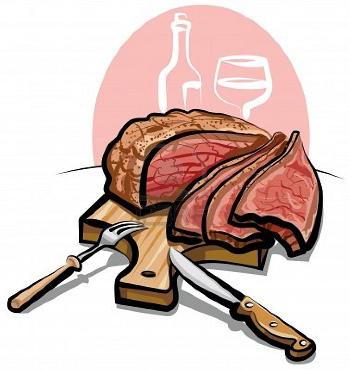 Beef clipart prime rib, Beef prime rib Transparent FREE for.