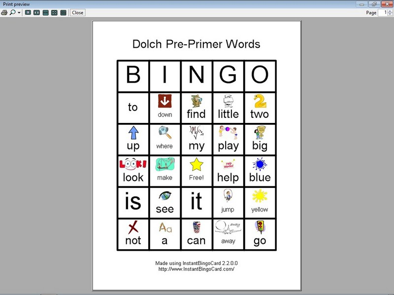 Sight Word Cards Clipart.