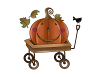 Primitive Clipart, Country Clipart, Whimsical Graphics.