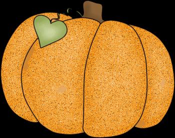 Primitive pumpkin clipart 2.