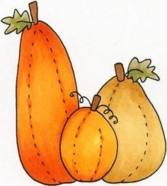 Primitive pumpkin clipart 1 » Clipart Portal.
