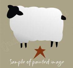 Clipart On Pinterest Clip Art Primitive Sheep And Snowman.