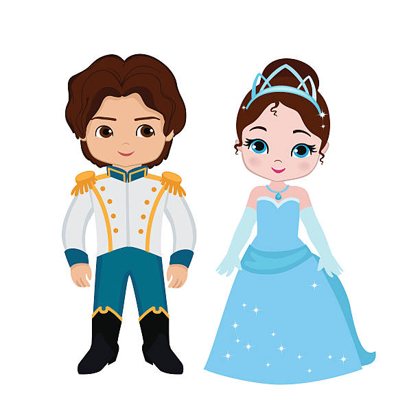 Prince And Princess Clipart.