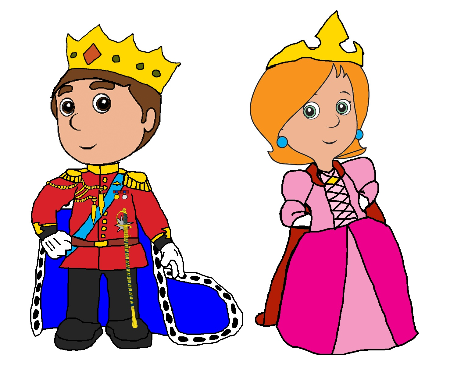 Prince and princess clipart 9 » Clipart Station.