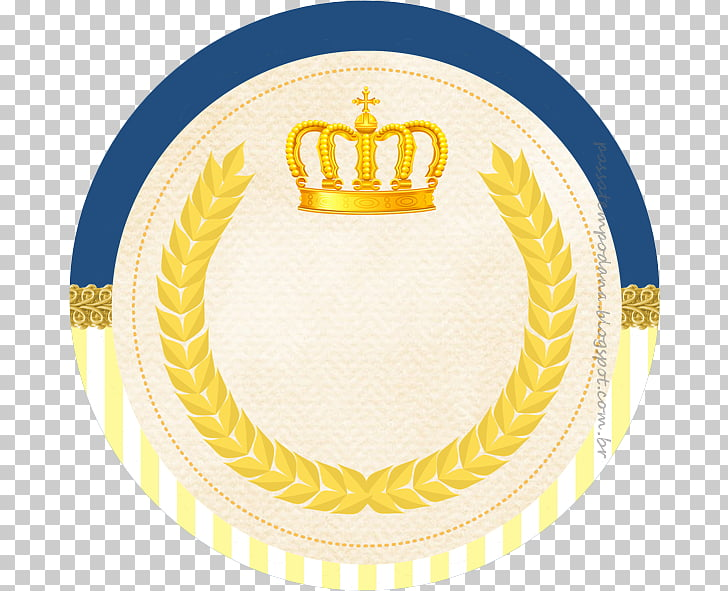 Prince Label Adhesive Baby shower Crown, arabesco PNG.