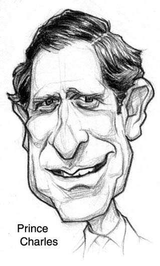 Prince Charles by Richard Terry Clark.