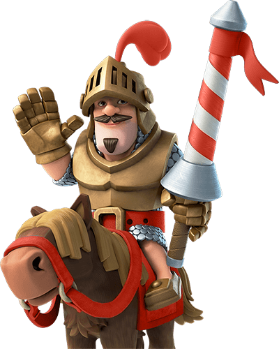 Clash Royale Red Prince transparent PNG.