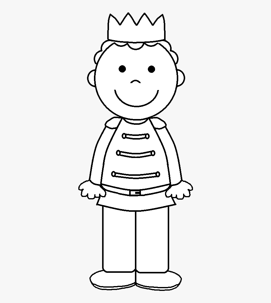 Prince Clipart Black And White Png , Free Transparent.