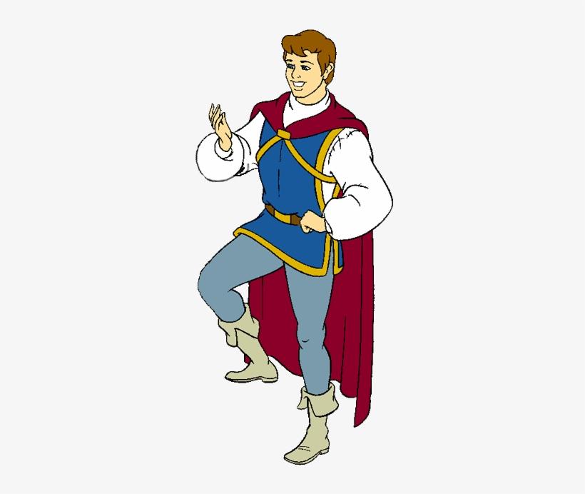 Snow White Prince Clipart.