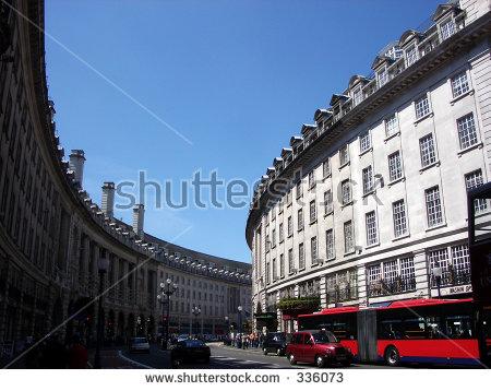 Regents Street Stock Photos, Royalty.