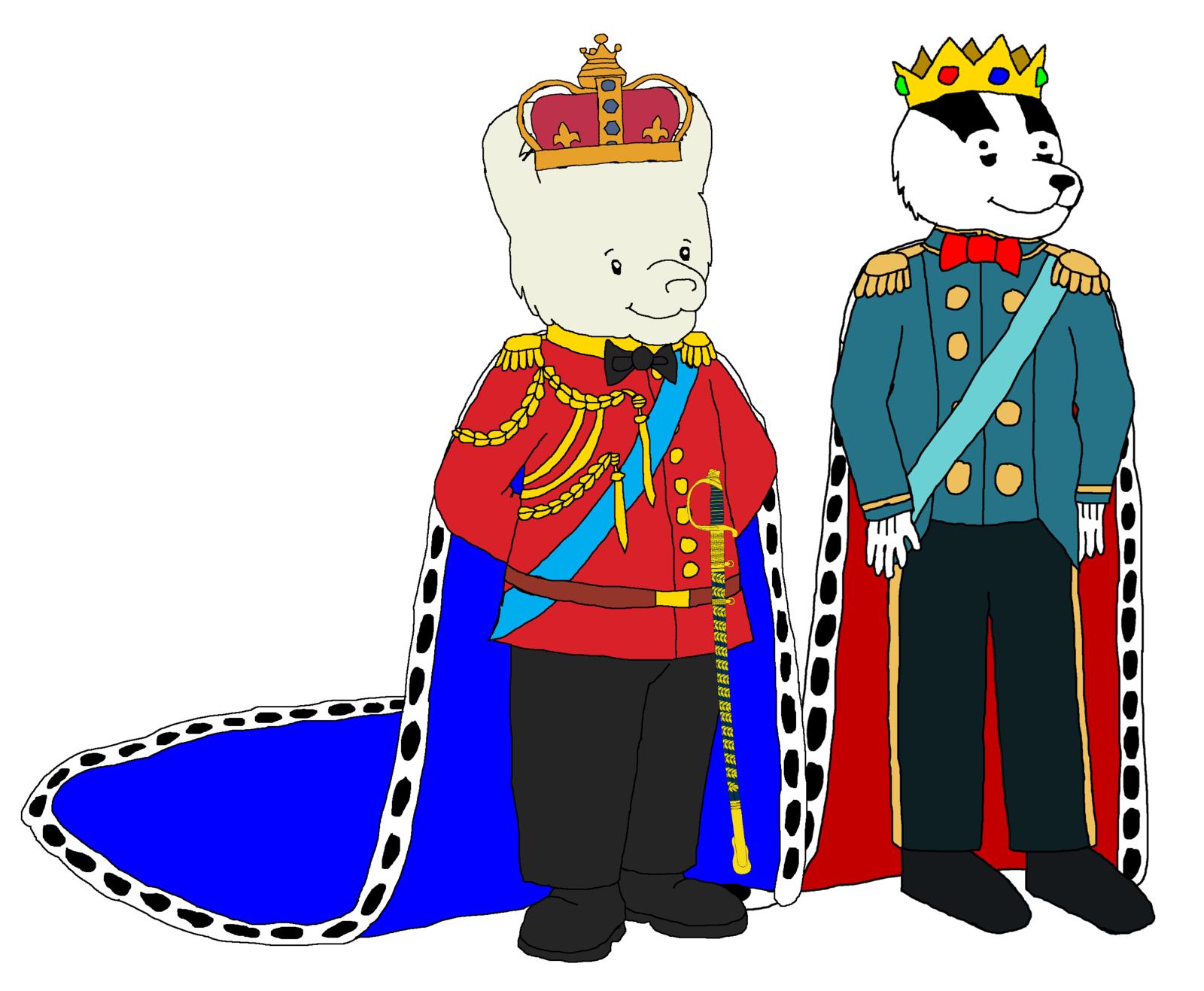 Prince Rupert and Prince Bill by KingLeonLionheart on DeviantArt.