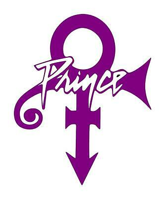 PRINCE THE ARTIST LOVE SYMBOL RED Logo Patch.