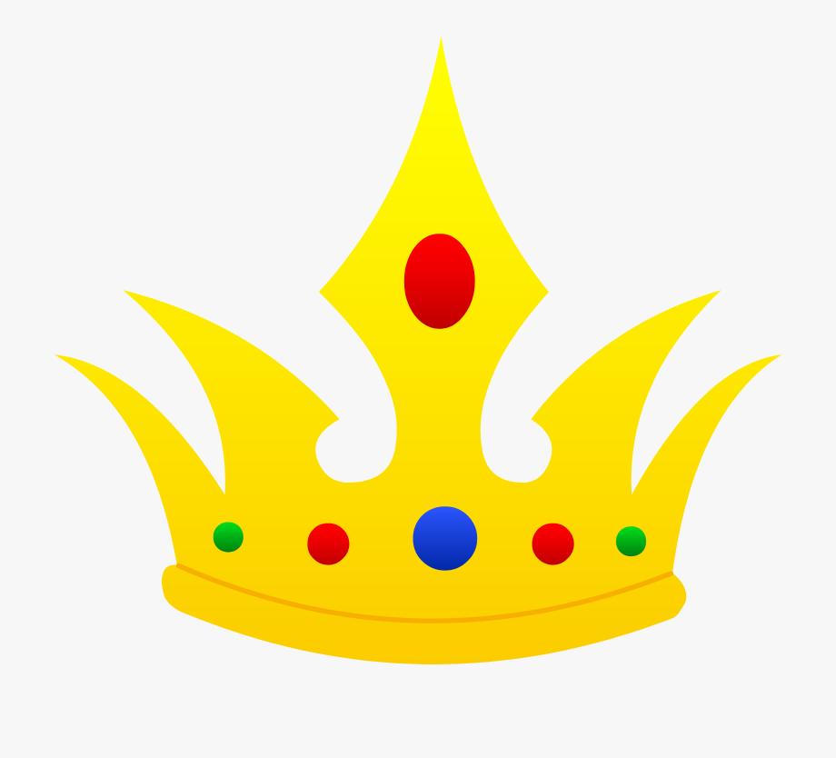 Cartoon Crown Clipart.