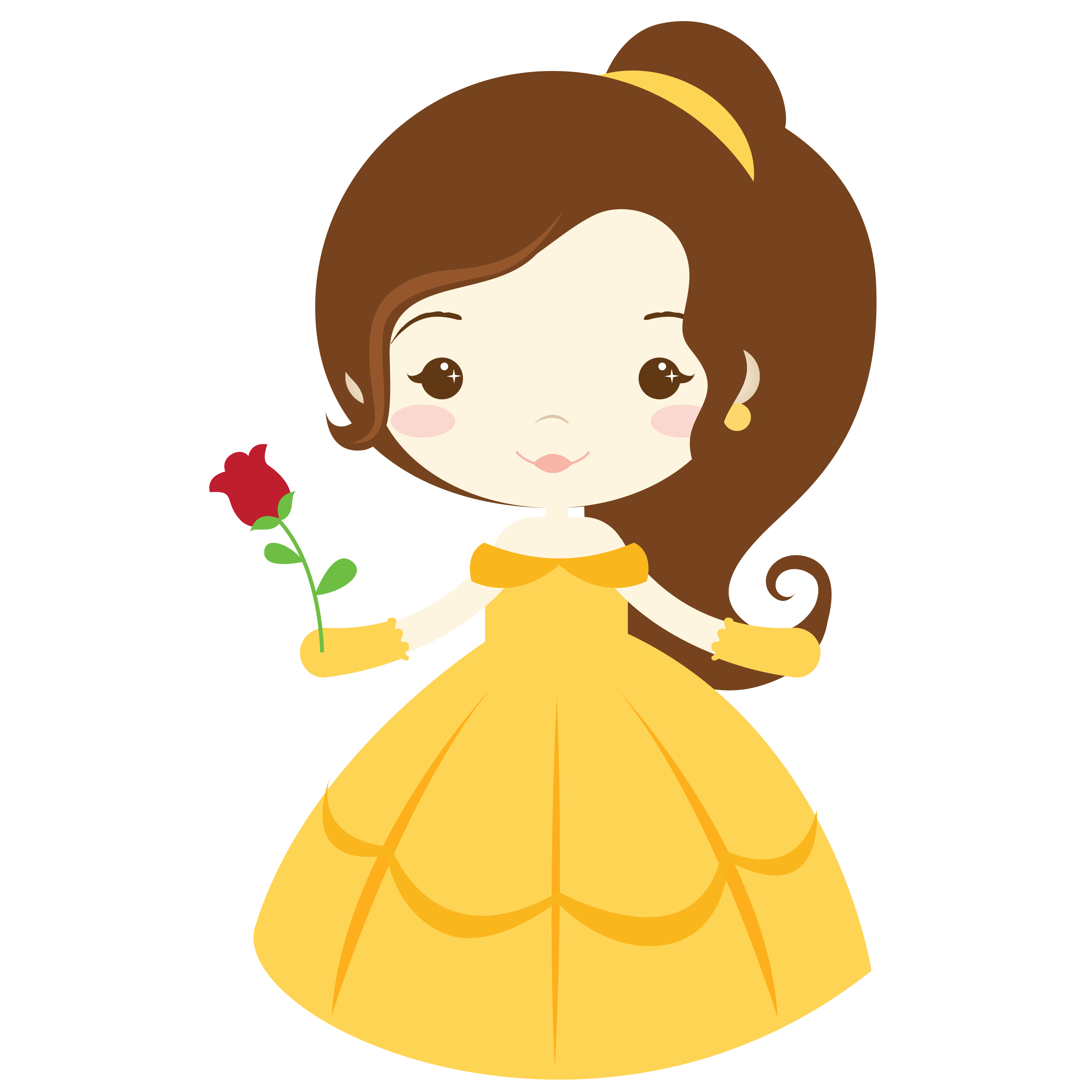 Disney Clipart Belle at GetDrawings.com.