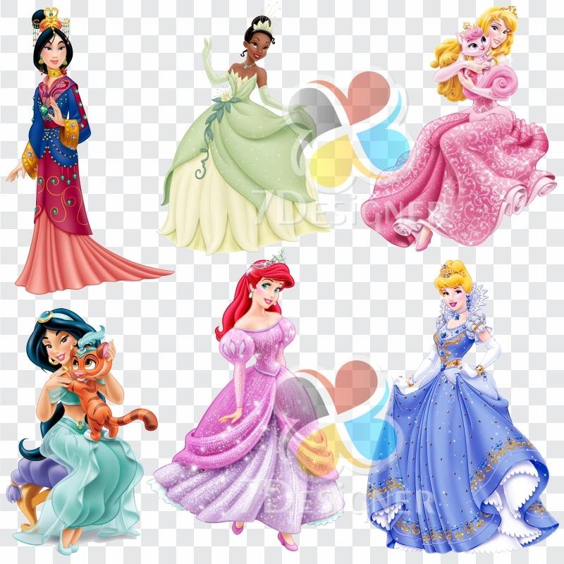 Kit Digital Princesas Disney 628 Imagens Em Png.