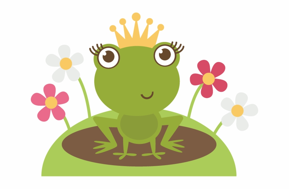 Frog Princess Svg Cutting File Frog Princess Svg File.