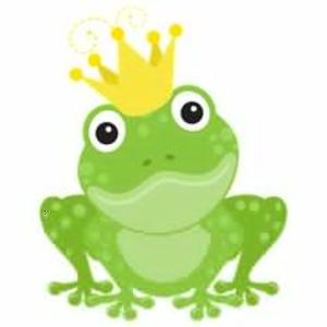 Free Clipart Princess Frog.