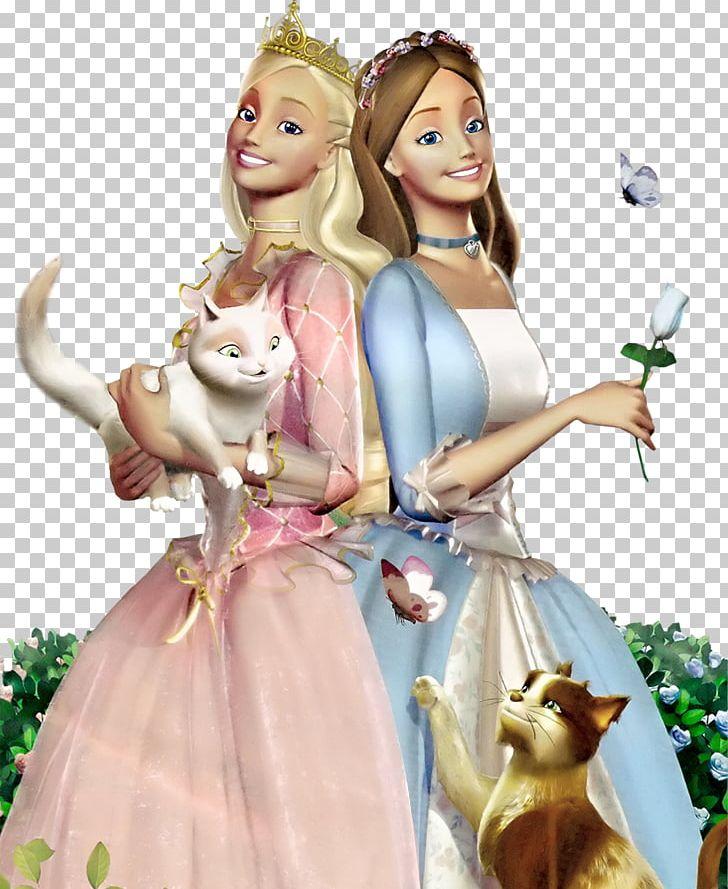 Barbie As The Princess And The Pauper Barbie As Rapunzel.