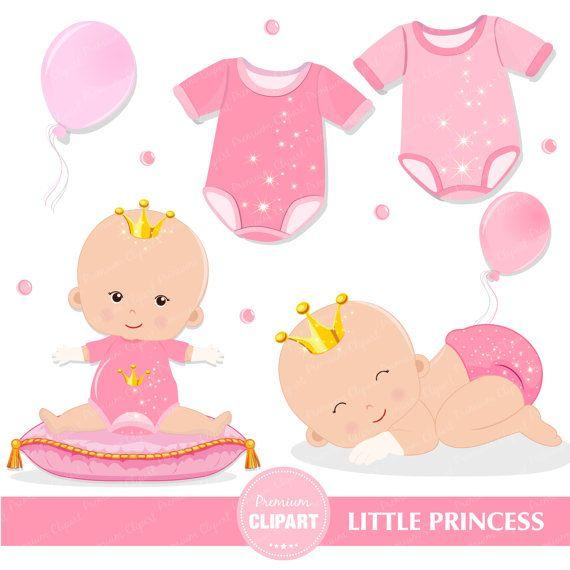 Princess baby clipart princess baby shower clipart princess.
