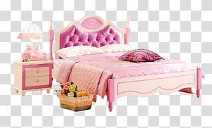 Bed Furniture Computer file, European.