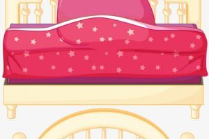 Princess bed clipart 9 » Clipart Portal.
