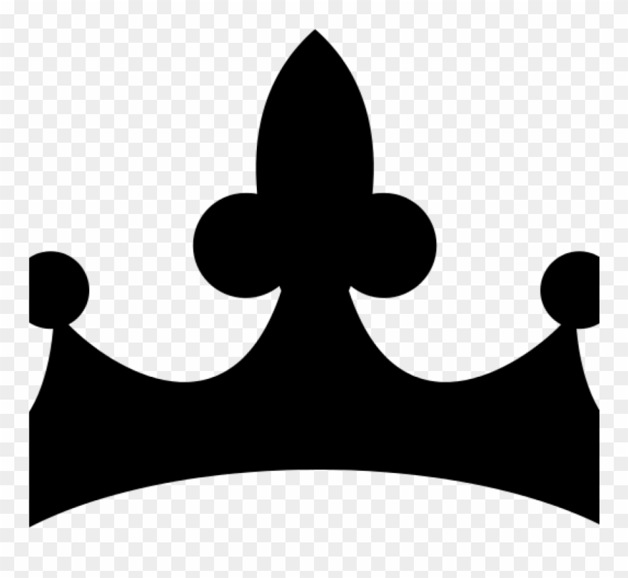 Crown Clipart Black And White 19 Princess Crown Graphic.