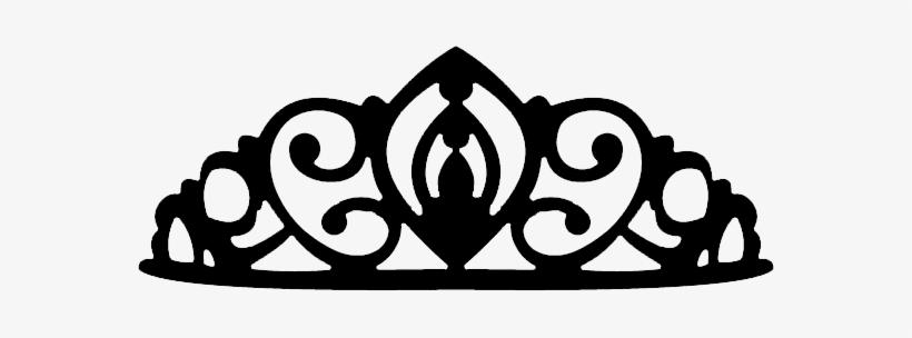 Download High Quality princess crown clipart black.