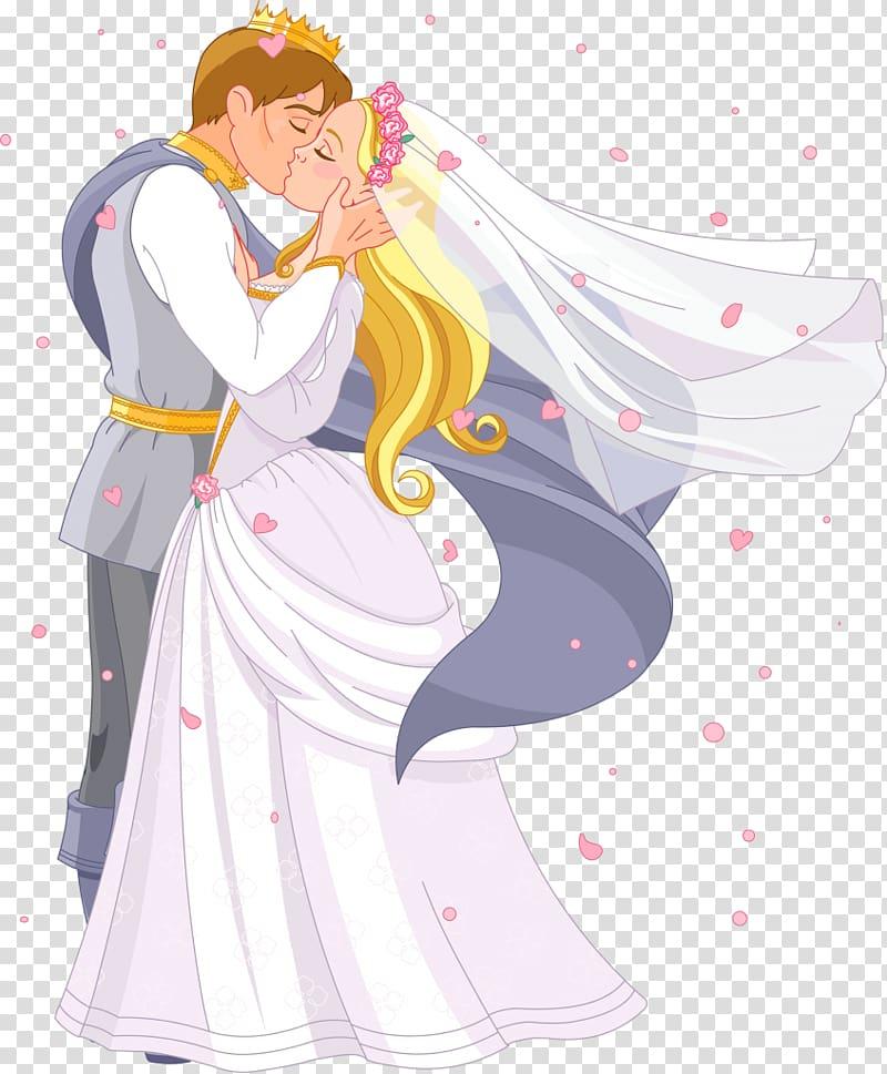 Princess , bride transparent background PNG clipart.
