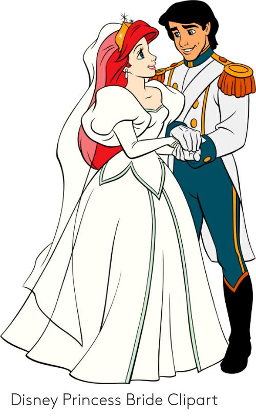Disney Princess Bride Clipart.