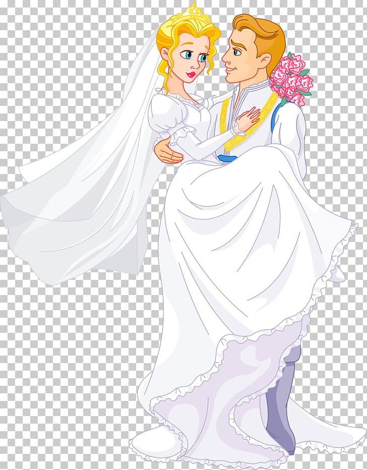 Princess , bride PNG clipart.