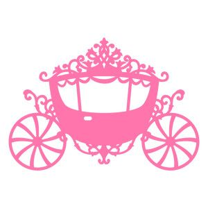Princess Carriage Clipart.