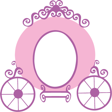 Princess Carriage Decal.